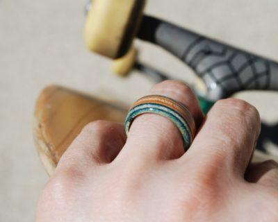 skateboard ring, broken skateboards, skate ring