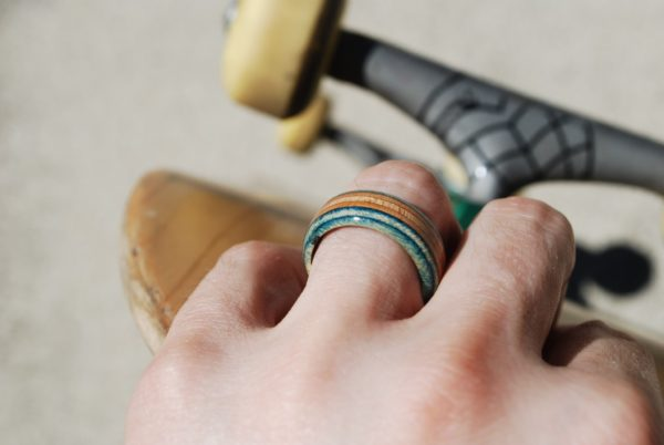 skateboard ring, broken skateboards, skate ring