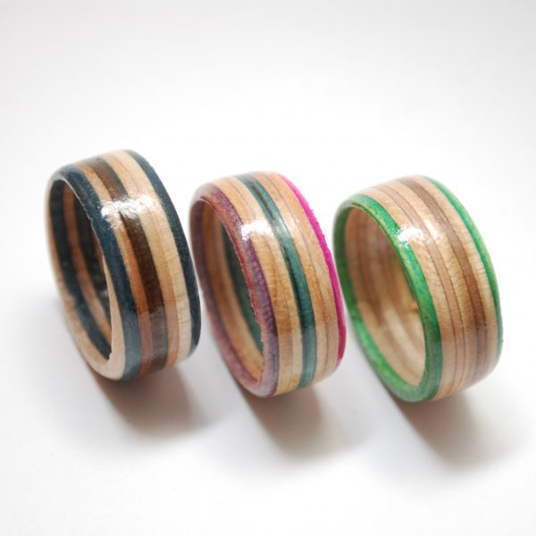 skateboard ring, skate ring, recycled, upcycled