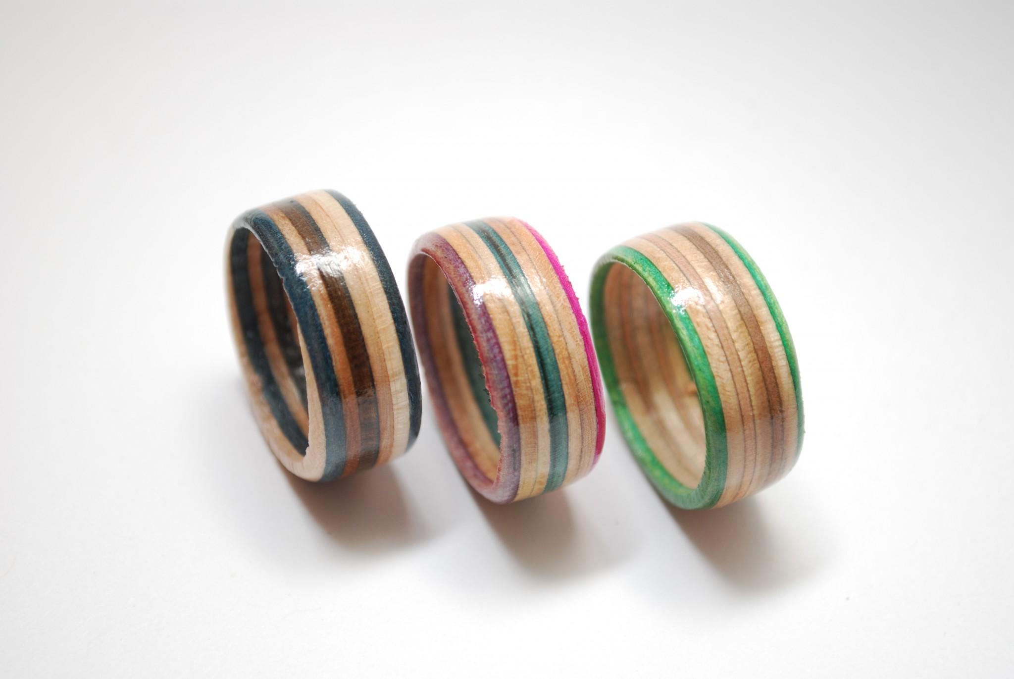 skateboard ring, skate ring, recycled, upcycled