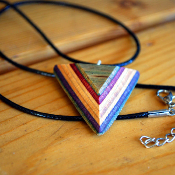 recycled materials, skateboard jewelry
