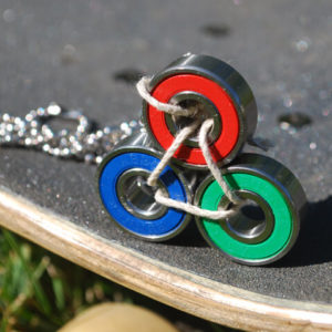 skate bearing, jewelry