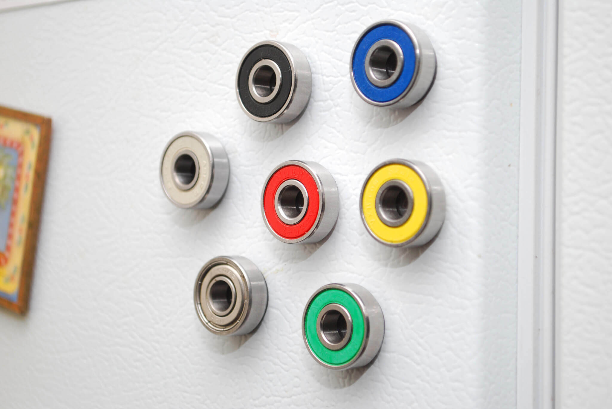 skateboarder, gift, bearings, magnet