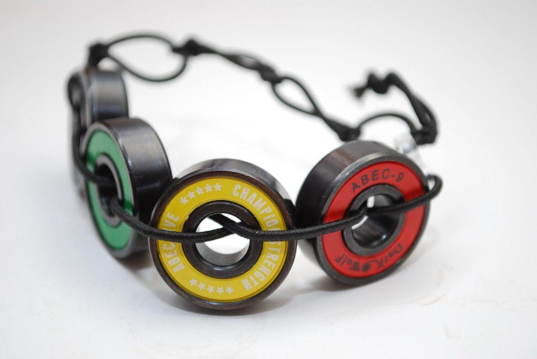 rasta jewelry, bracelet, skateboard