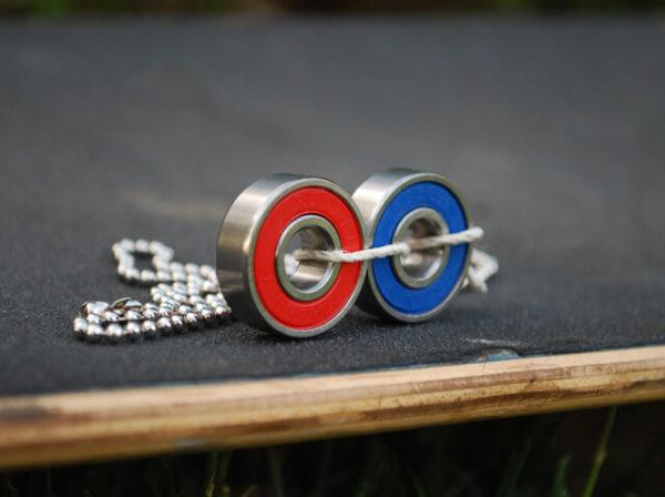metal jewelry, steampunk jewelry, bearings
