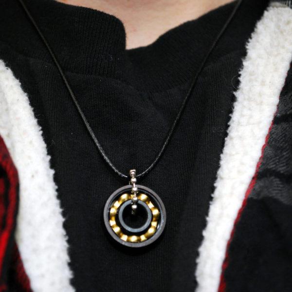 skateboard necklace, roller derby, jewelry, gift