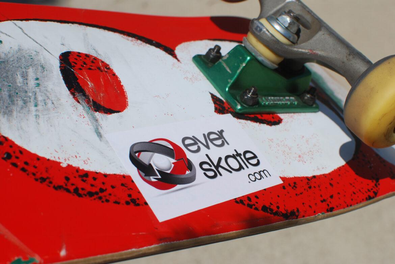 skate sticker, skateboarding