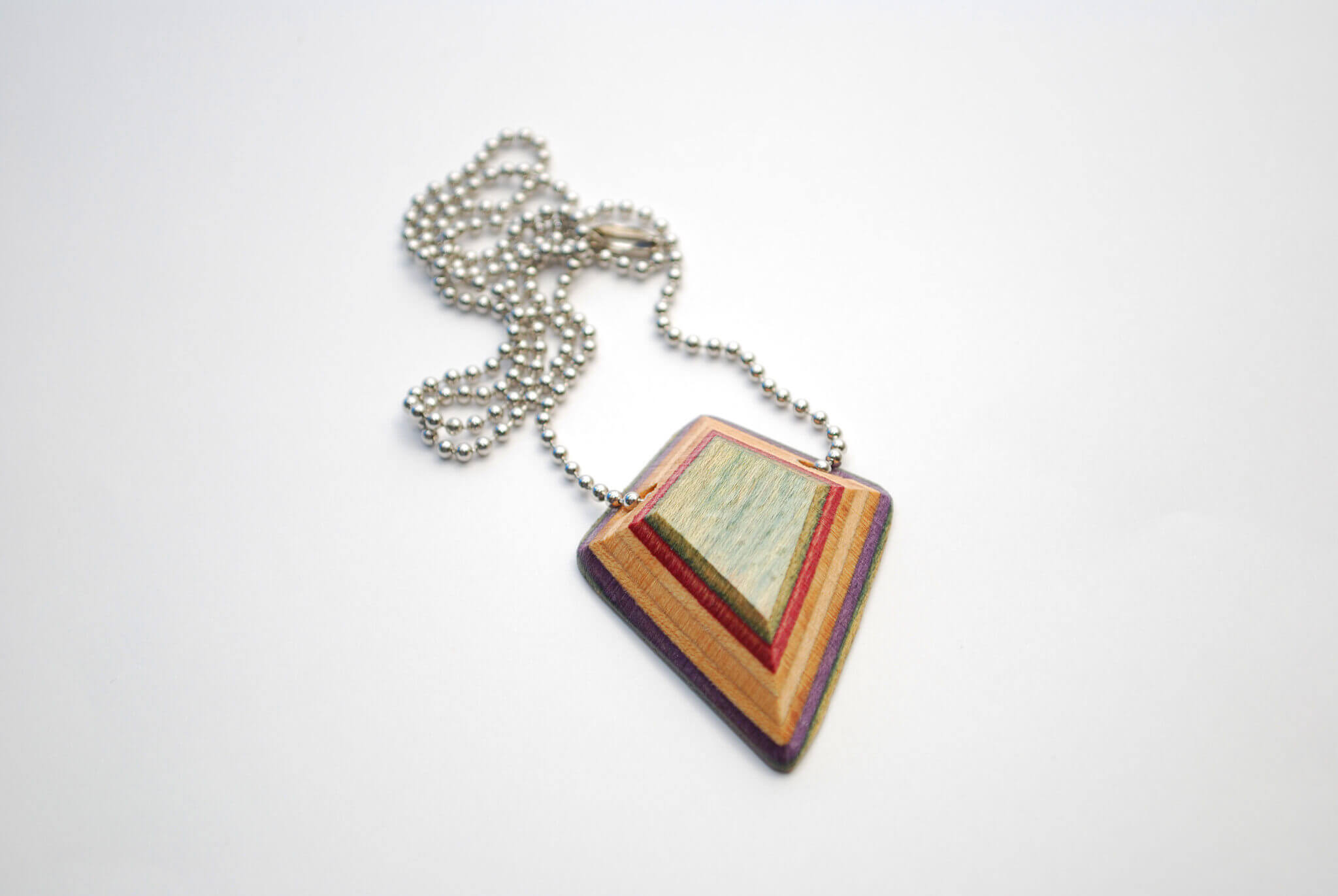 recycled skateboard, ring, necklace, pendant
