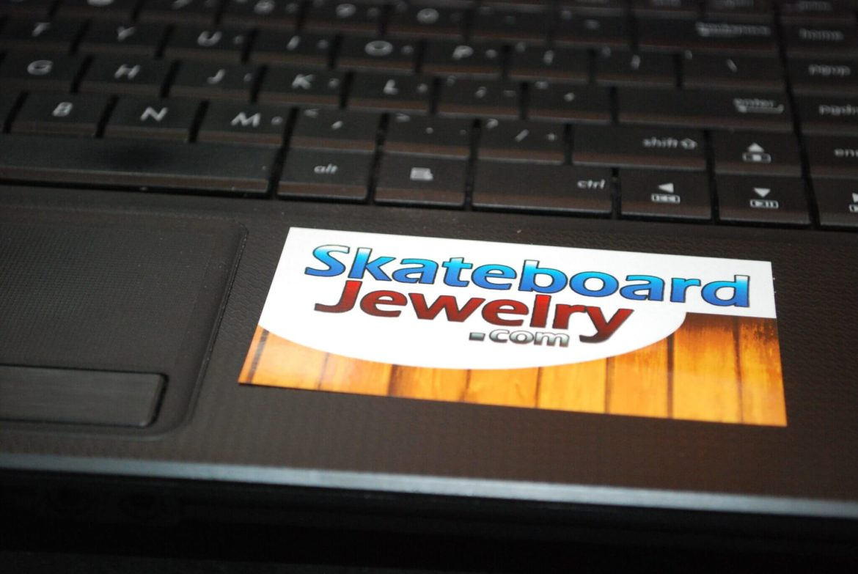 skate, stickers, skateboard