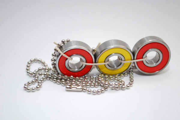bearing jewelry, skateboard