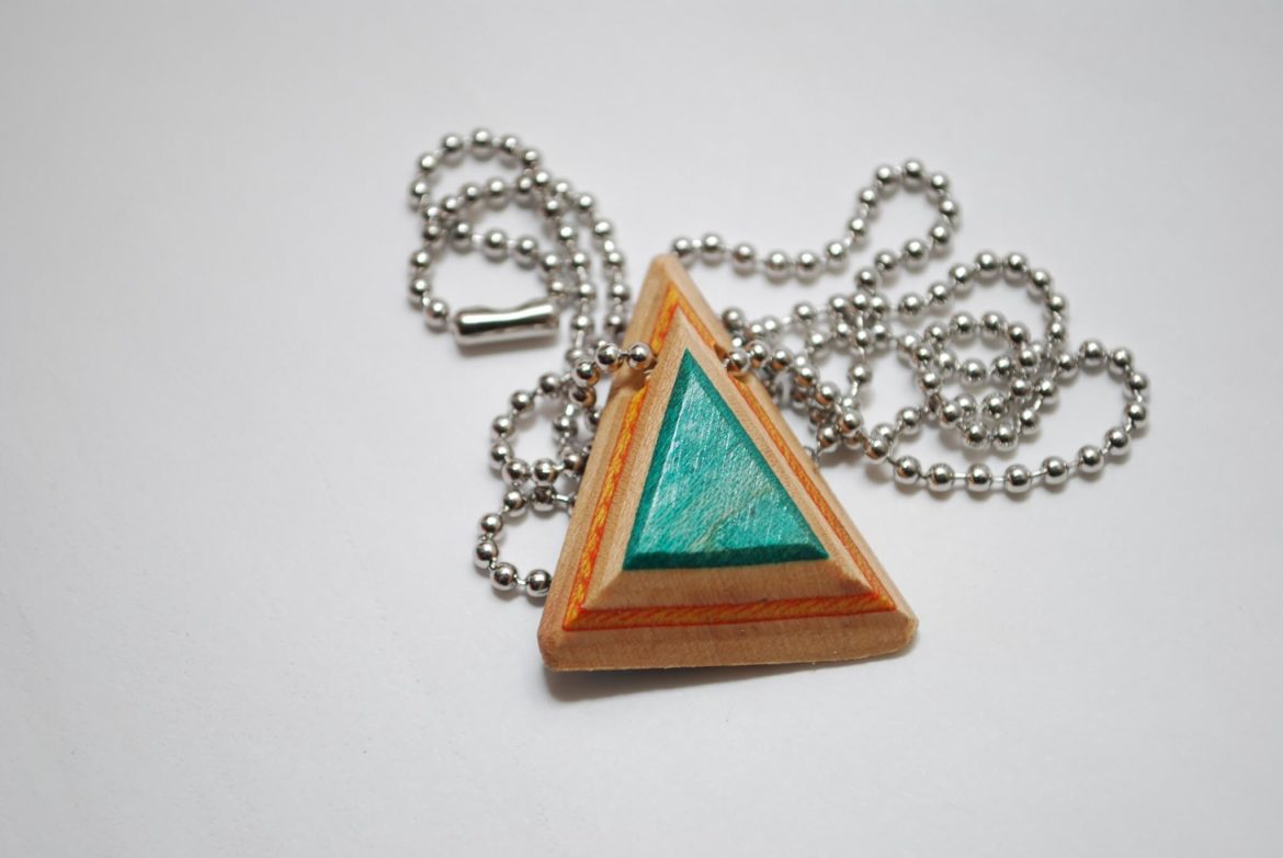 recycled skateboard jewelry, skate gifts