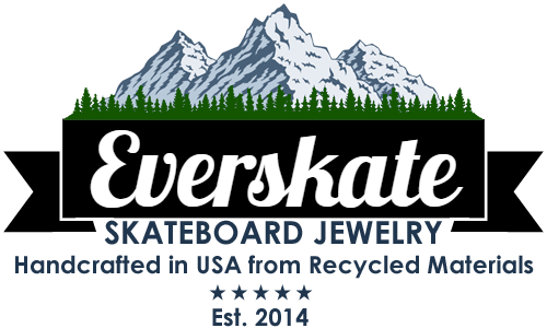 skateboard gifts, jewelry, skateboard rings
