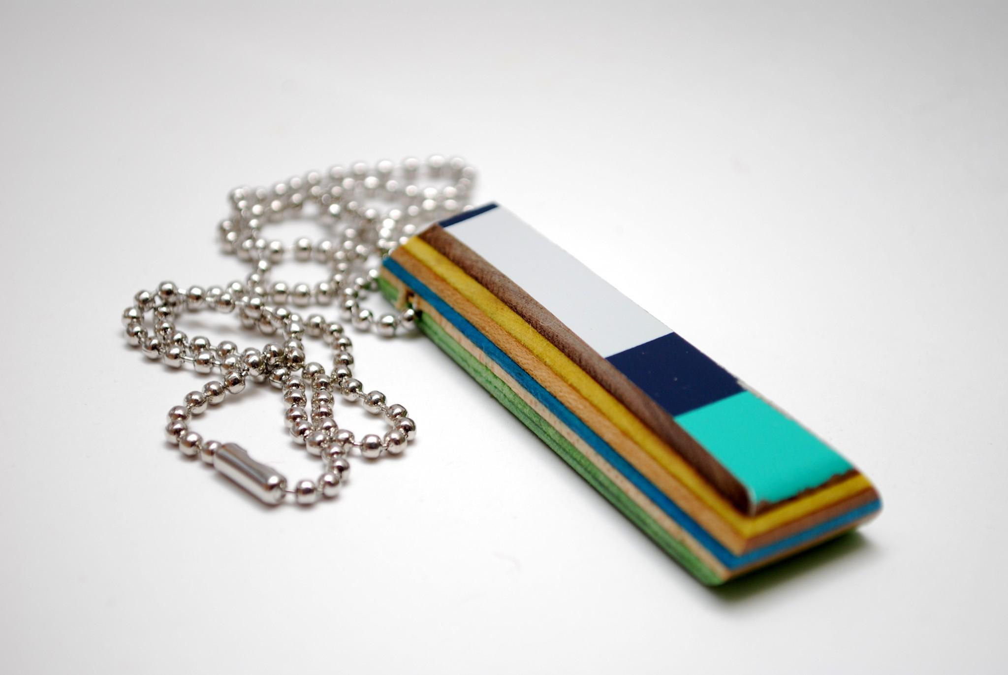 broken skateboards, jewelry, ring, gift