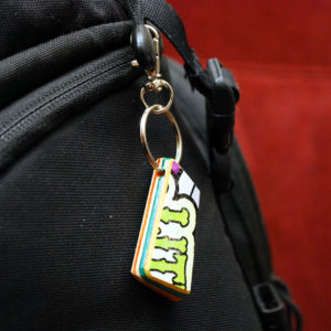 upcycled, skateboards, gifts, keychain