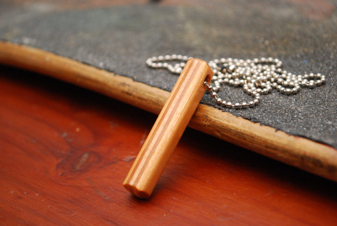 mens necklace, recycled jewelry