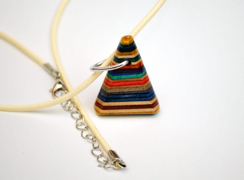 rainbow, necklace, wood, triangle, skateboard
